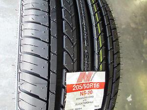 2 new 205 50r16 inch nankang ns 20 tires 205 50 16 r16 2055016 50r ebay. Black Bedroom Furniture Sets. Home Design Ideas