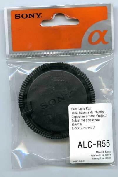 Symbole De La Marque Sony Bouchon Arrière Objectif Alc-r55 Pour Minolta Af Et Sony Monture A