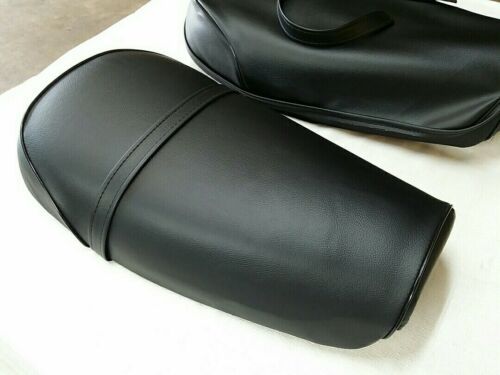 S10--n10 SUZUKI TS185 SEAT COVER SIERRA 1973 MODEL SEAT COVER WITH STRAP