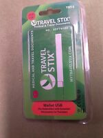 Travel Stix Medical & Travel Documents 2 Gb Usb Pre-embedded W/documents