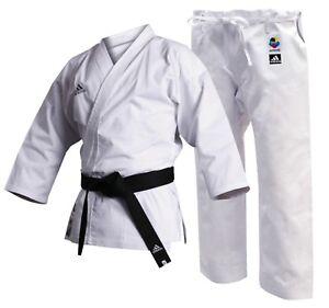 Adidas-Childrens-Kids-Club-Karate-Gi-Suit-Uniform-8oz-WKF-Approved-Boys-Girls