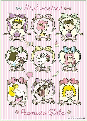 Apollo-sha Jigsaw Puzzle 41-704 Peanuts Snoopy Girls (108 Pieces)
