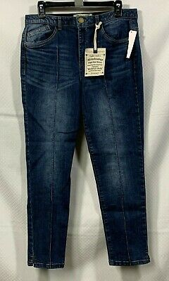 "Disciplined Democracy Jeans Sz 10 ""ab"" Technology High Rise Skinny Jeans Women's 30x27 2019 New Fashion Style Online Jeans"