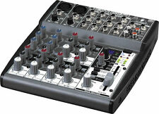 BRAND NEW Behringer XENYX 1002FX 8 Input Mixer Board EQ & 100-Multi-FX Processor