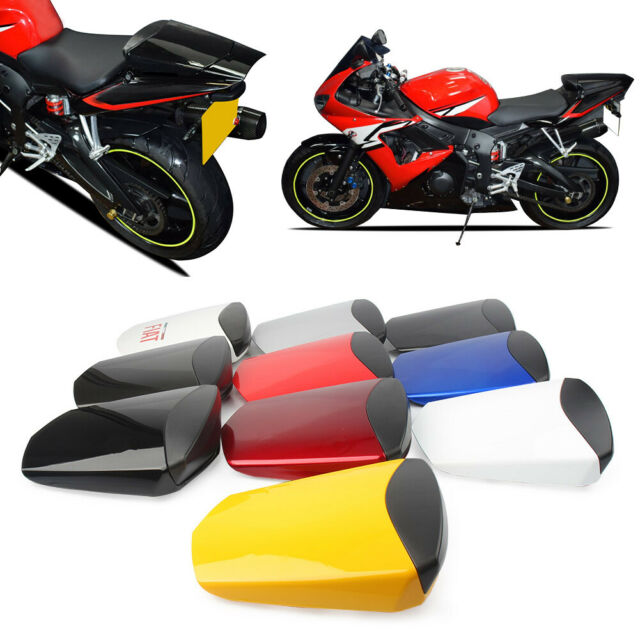 8 Different Style Pillion Rear Seat Cover Cowl ABS for Yamaha YZF-R6 2003-2005