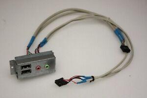 Acer Aspire T630 Vorne USB Audio Board Paneele & Kabel 2J017-003A