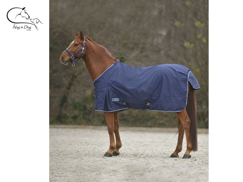 WALDHAUSEN TURNOUT Rug Lightweight Lite Navy Lined 600D OUTER FREE DELIVERY
