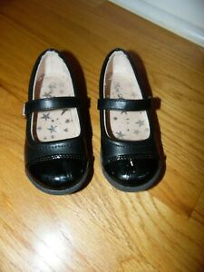 Olive \u0026 Edie Girls Black Dress Shoes
