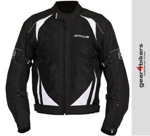 SALE Buffalo Coolflow ST Black Motorcycle Jacket Cool Flow Air Mesh Sports