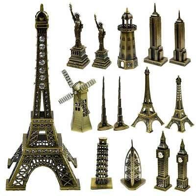 Handmade 24cm Big Ben Clock Tower Statue Souvenir Gift for Home Table Decor