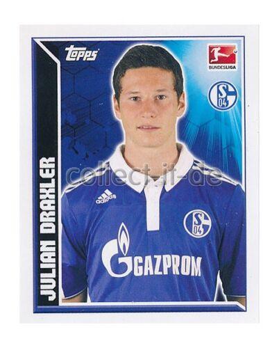 Topps Bundesliga 11//12 Einzelsticker 351 Julian Draxler
