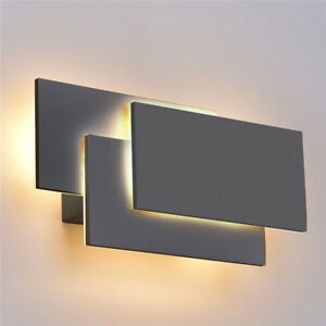 Details about 24W Modern LED Wall Sconce Fixtures Light Lamp Indoor Living  Room Home Lighting