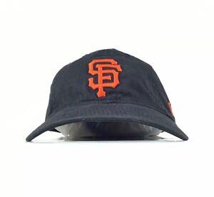 San Francisco Giants Black Baseball Cap Hat Adj. Youth Size New Era ... c4d5df82f05
