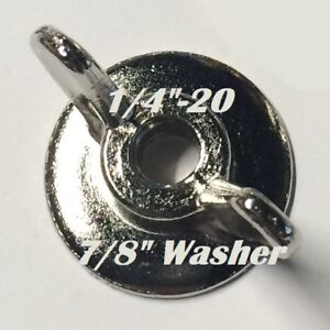 Fastener-014973326562-Washer-Wing-Nut-1-4-20-100-Pk-FREE-SHIPPING