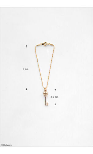 TYK Key Necklace DOLLMORE BJD ACCESSORY NEW SD and Model Gold