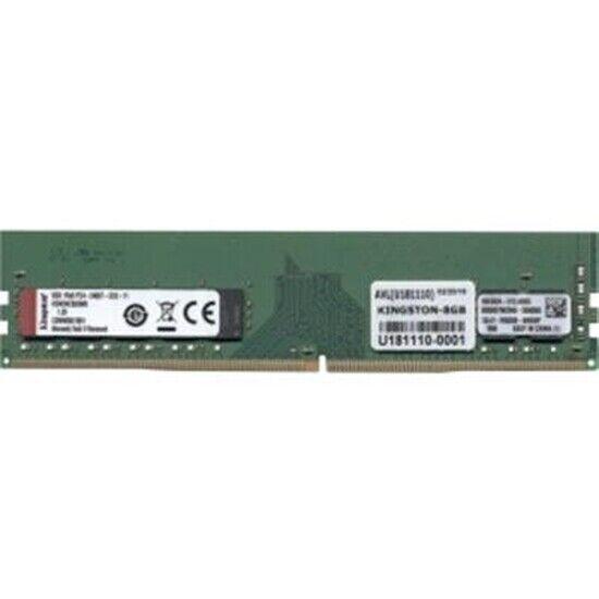 Kingston Memory KSM24ES8//8ME 8GB 2400MHz DDR4 ECC CL17 DIMM 1Rx8 Micron ERetail