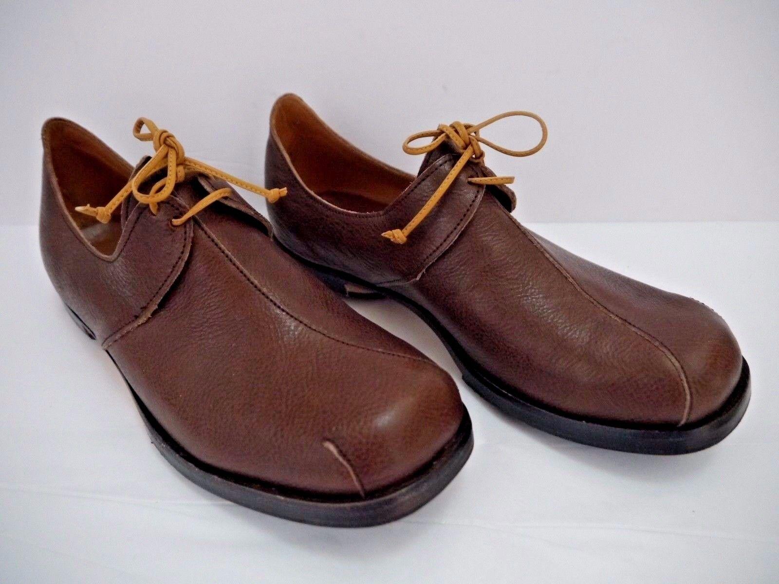 risposta prima volta NEW CYDWOQ  321 321 321 Branch Marrone leather lace-up detail loafers flat scarpe Dimensione 38  ordina ora con grande sconto e consegna gratuita