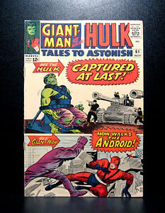 COMICS-Marvel-Tales-To-Astonish-61-1964-1st-Mails-To-Astonish-Glenn-Talbot
