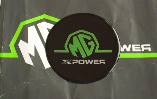 MGZS MG ZS Steering Wheel Airbag Badge MG Xpower Black mgmanialtd.com