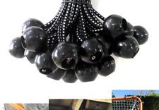 25-Piece 9-Inch Black Kotap BB-9B Ball Bungee