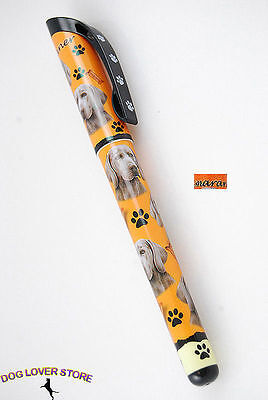 Weimaraner Dog Pen Replaceable Ballpoint Black Ink