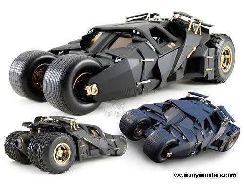1 18 Original Batmóvil - Batman Begins  Batmobil Rareza -