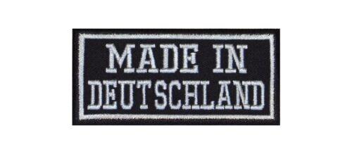 MADE in germania biker Patch ricamate moto MC Nazione Paese patria federale