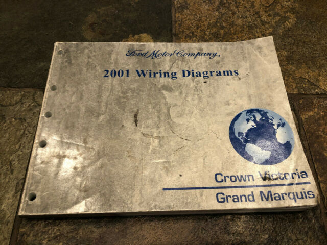 2001 Ford Crown Victoria Grand Marquis Wiring Diagrams