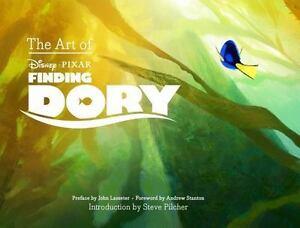 The Art Of Finding Dory 2016 Hardcover 9781452122243 Ebay