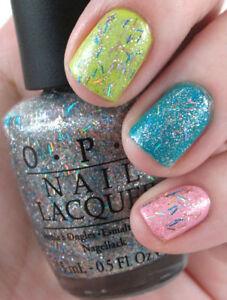 Image Is Loading Opi Nicki Minaj Save Me Holographic Rainbow Bar