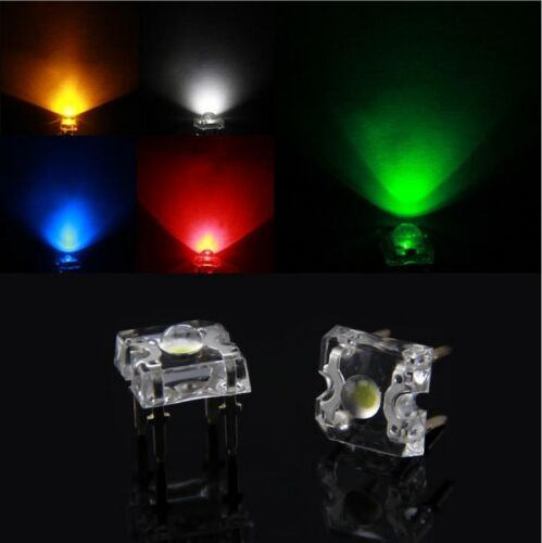10 LED Hoch Helligkeit/' 5mm 3mm 10mm PIRANHA RGB Weiß blau rot grün Gelb
