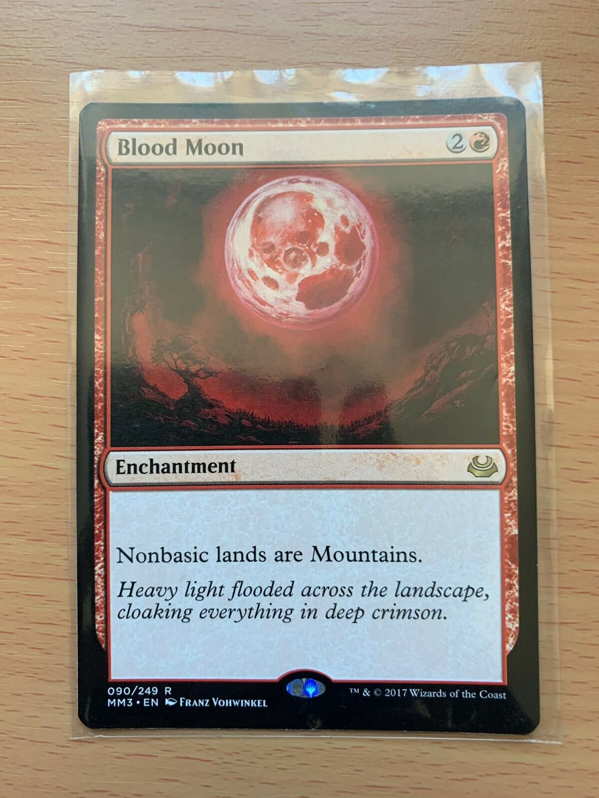 Blood moon modern masters 2017 mint mtg 2x