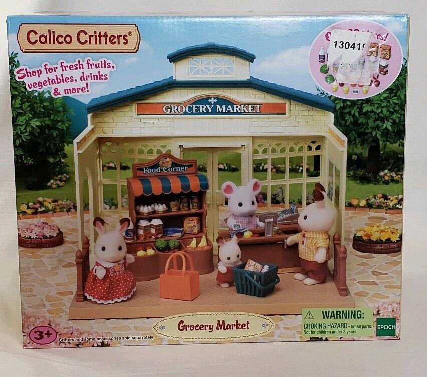 artículos de promoción Calico Critters Sylvanian Family del mercado de de de comestibles Epoch aldea figura bosque de tienda  60% de descuento