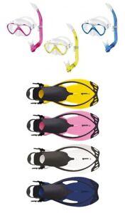 Mares Seahorse Schnorchelset Kinder Mit Allegra Kinderflossen Verstellbar Spielzeug