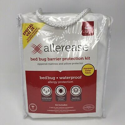 Allerease Bed Bug Protection Mattress Zippered Protector ...