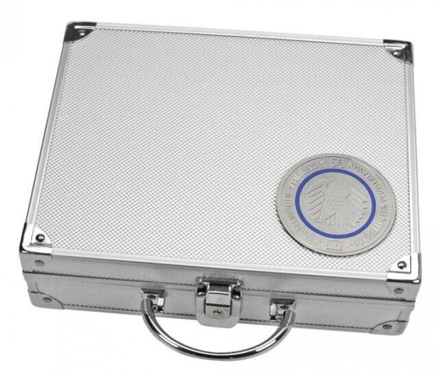 SAFE 238 Alu-Münzen-Koffer für 5-Euro-Münzen