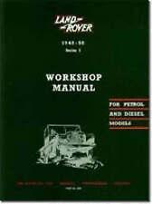 Land Rover Series I Workshop Manual by Brooklands Books Ltd (Paperback, 1991)