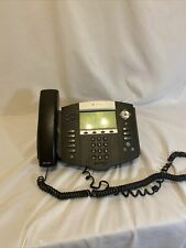 Polycom Soundpoint Ip 550 With Handsets And Stands Free Shipping No Power Cord