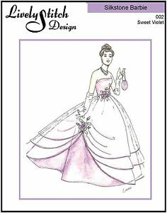 Chandelier Evening sewing pattern for the Silkstone Barbie doll