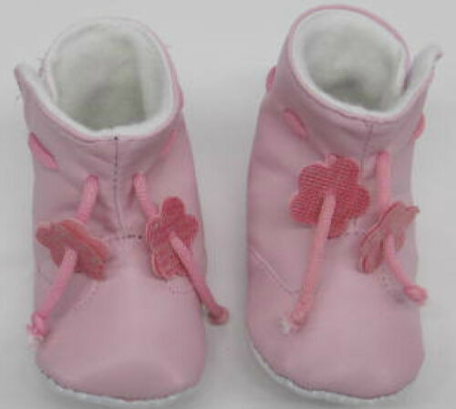 Baby Boots Girls Pink birth to 12 months new booties first shoes