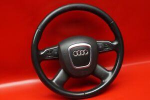 Audi-A6-4F-C6-Volante-Multifunzione-Pelle-4-Speichen-4F0419091AH-Nero-Nn