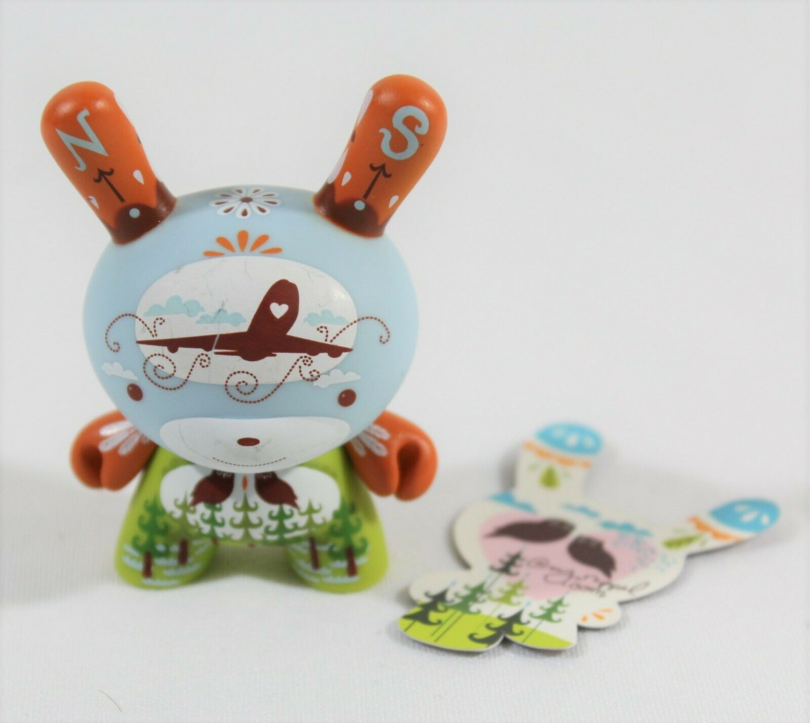 Kidrobot Dunny 2009 Series  Migrator  by AMY RUPPEL Vinyl @MY 3  Figure RARE