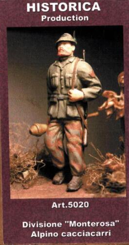 Historica 1:35 Divisione Monterosa Alpino Cacciacarri Resin Figure Kit #5020