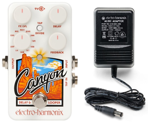 New-Electro-Harmonix-EHX-Canyon-Delay-and-Looper-Guitar-Pedal