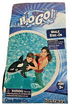Inflatable Rubber Ride on for Kids Bestway BW41009-20 Jumbo Whale Pool Float Swim aid