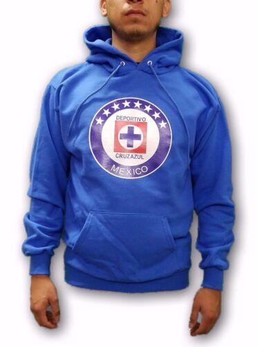 Cruz Azul FC La Maquina Men's Blue Pullover Hoodie Sweatshirt Size Small to 2XL