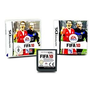 Nintendo-DS-Jeu-Fifa-10-IN-Emballage-D-039-Origine-avec-Instructions
