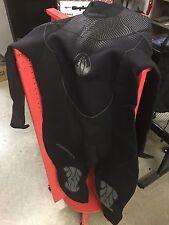 Nice 3mm Akona Womens Scuba Diving Wetsuit Dive 1-Piece Suit 13-14 Size Blak