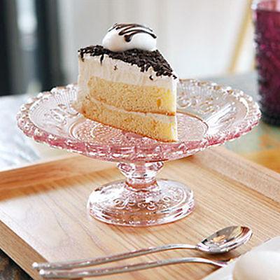 cake stand cupcake stand vintage cake stand cake clear pedestal cake plate glass