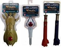 Thundercats Lion-o Claw Basic Shield & Sword Of Omens & Panthro Nunchucks Bandai